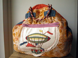 """The """"Mary Poppins""""- hand-stitched bag"""