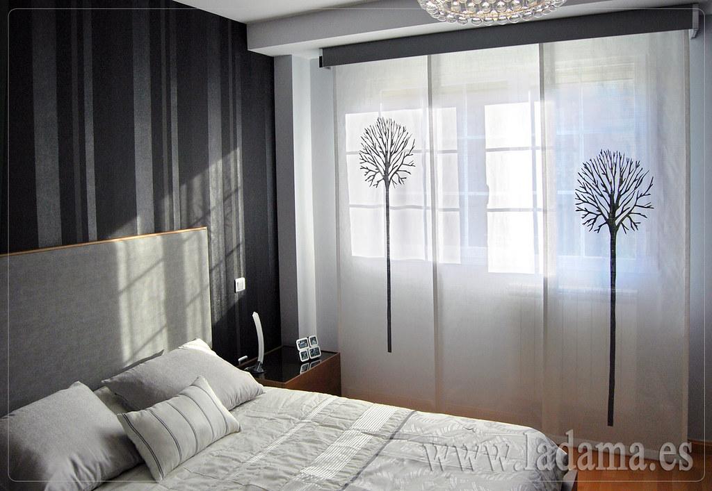 Fotos de cortinas instaladas en ambientes - Fotos panel japones ...