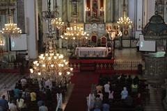 Church service in Manila