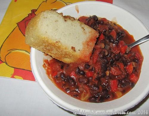 Scharfes Schwarze Bohnen Chili (4)