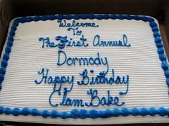 Birthday Clambake 2013