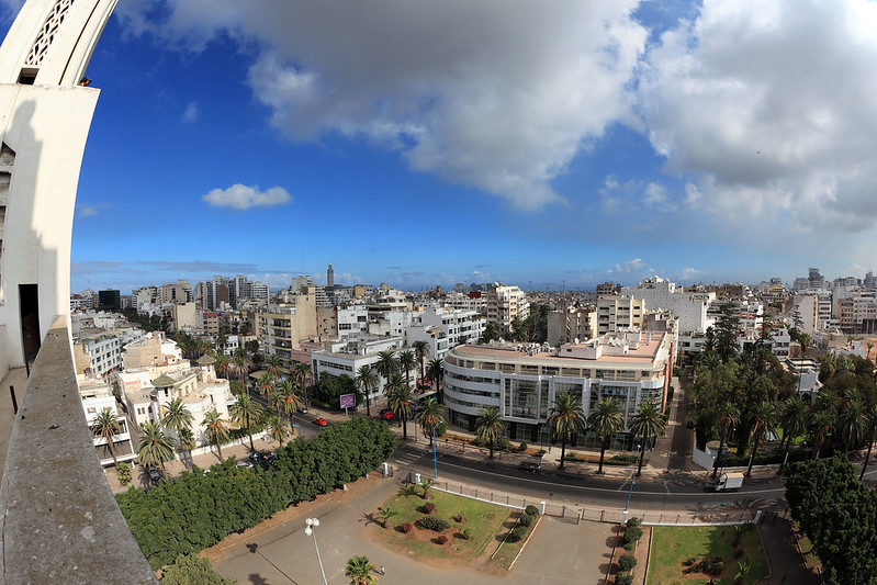 Casablanca fisheye