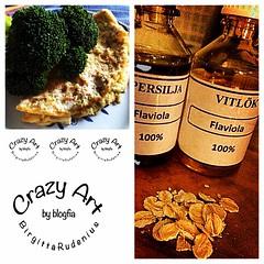 Himla gott!! 3 ägg lite havremjölk lite ekologiska havregryn vitlök och persilja - ångkokt broccoli därtill Mums så gott! #recept