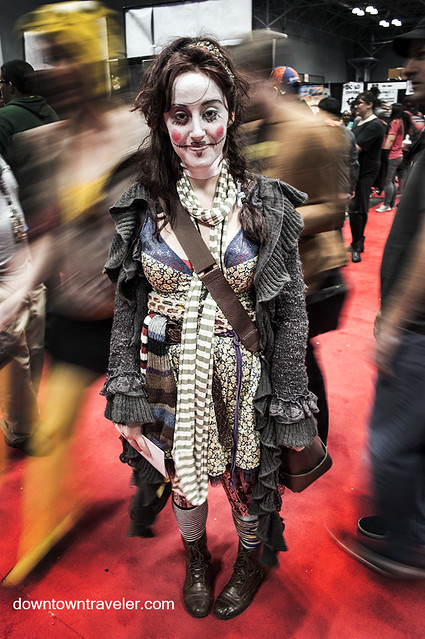 NY Comic Con 2014 Living Doll