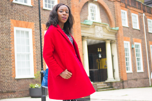 how to style a red coat this Winter