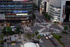tower block, metropolitan area, traffic, bird's-eye view, road, metropolis, urban area, lane, aerial photography, city, downtown, street, neighbourhood, pedestrian, infrastructure, intersection,