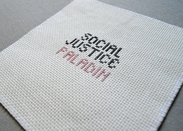 Social Justice Paladin Unframed