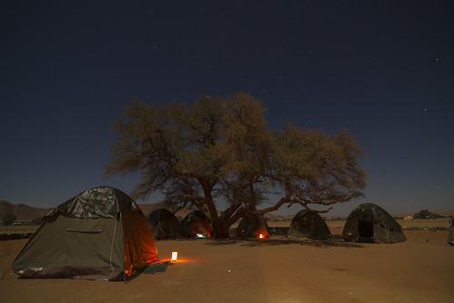En la puerta del Namib