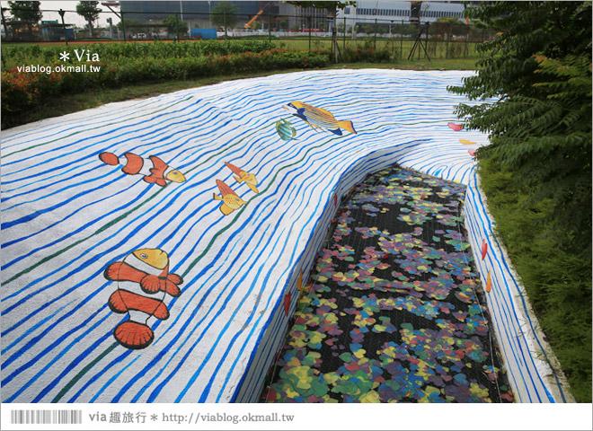 【南科幾米】台南|台積電南科幾米裝置藝術小公園~願望盛開‧許諾之地22