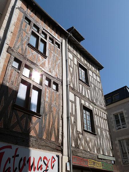 façades médiévales
