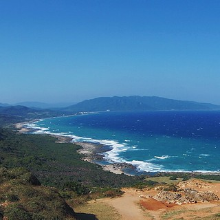 Another view of the Pacific Ocean near #Kenting #Taiwan