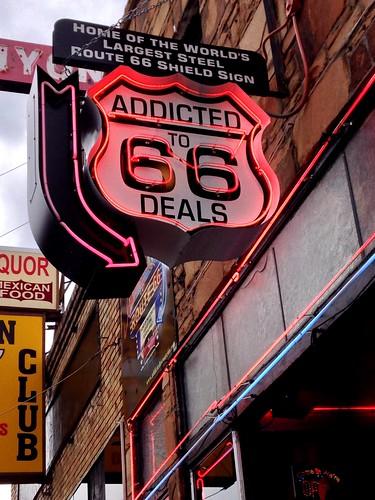 Addicted to Route 66 Deals - Route 66, Williams. Arizona