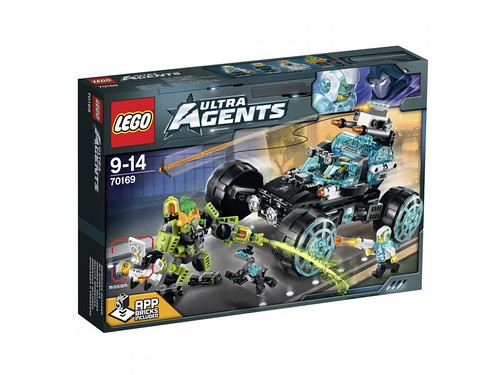 LEGO Ultra Agents 4x4 Agent Patrol (70169)