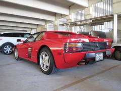 race car, automobile, ferrari 512, vehicle, performance car, automotive design, ferrari 348, ferrari testarossa, ferrari s.p.a., land vehicle, luxury vehicle, supercar, sports car,
