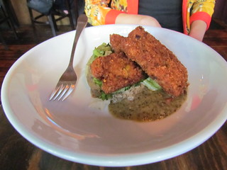 Pistachio Crusted Tempeh from Plum Bistro