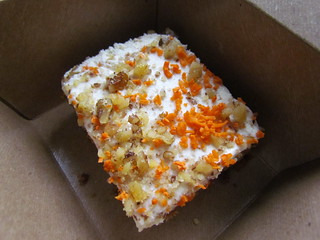 Carrot Cake (to go) from Veggie Grill (Downtown)