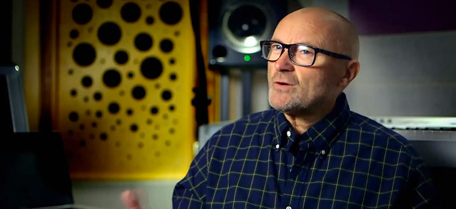 Phil Collins at Music Works