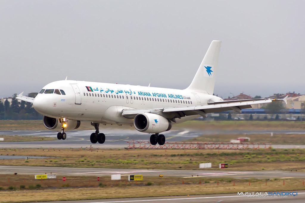 C5-AAR Ariana Afghan Airlines Airbus A320-231