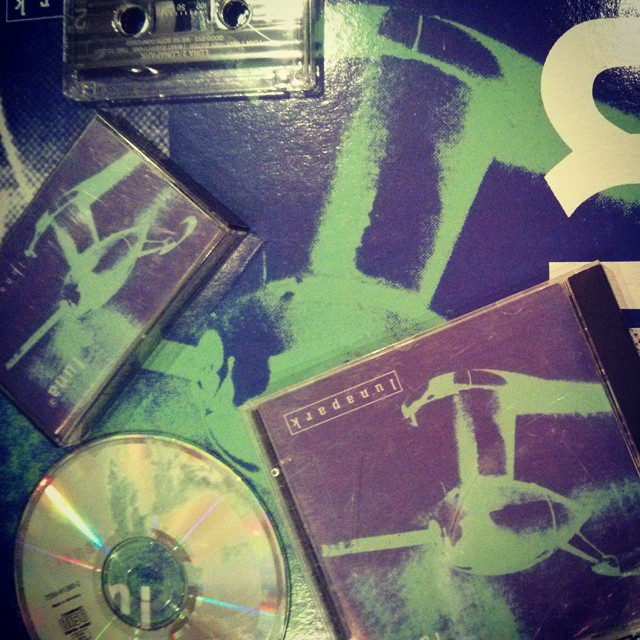 A set of Lunaparks #cd #lp #cassette #vinyl #ahfow #luna