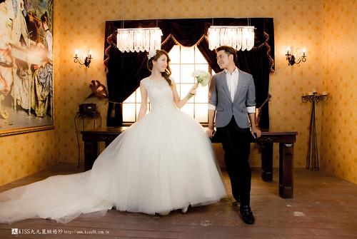 高雄KISS九九麗緻婚紗韓風婚紗攝影分享 (16)