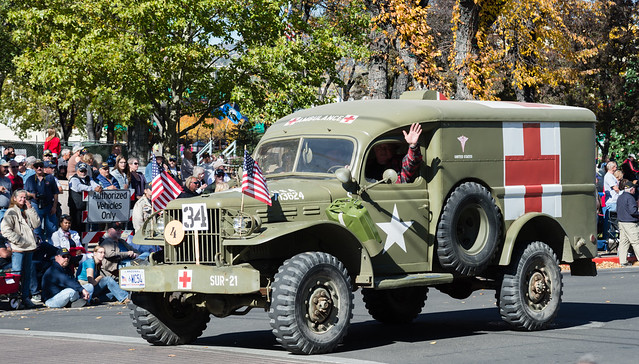 Old Dodge Military Ambulance