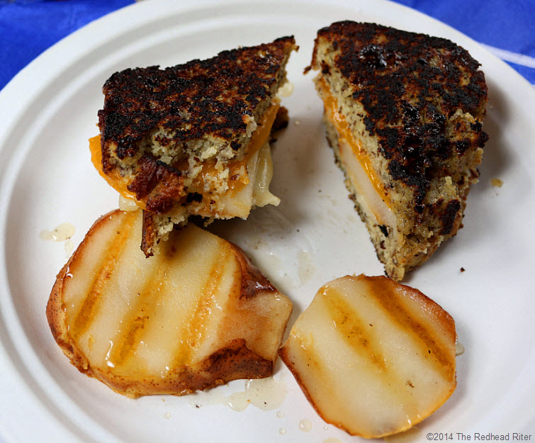 15 Grain Free Grilled Cheese Pear Sandwich recipe