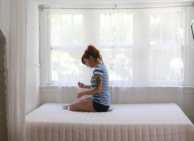 Bed Nook Makeover