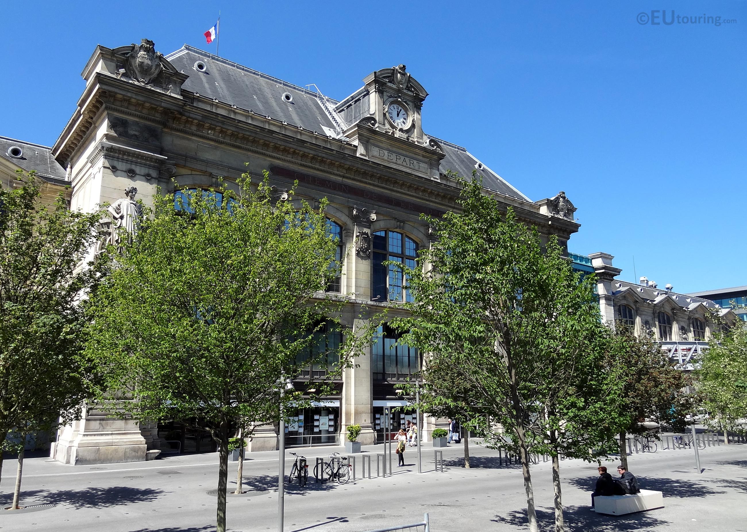 Facade of Gare d'Austerlitz