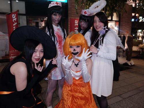 Nakameguro Blue Halloween 44