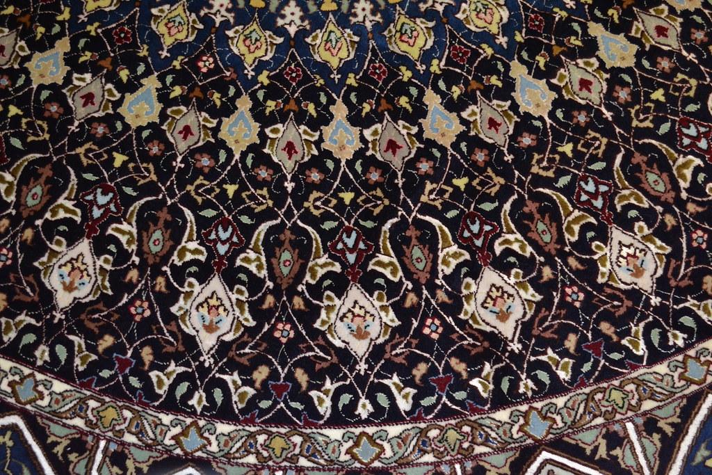 Royal gonabd Tabriz Persian Rug 8x8 (7)