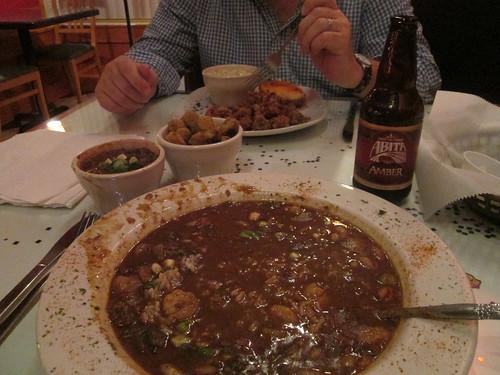 Gumbo at Devall's Cajun Cuisine