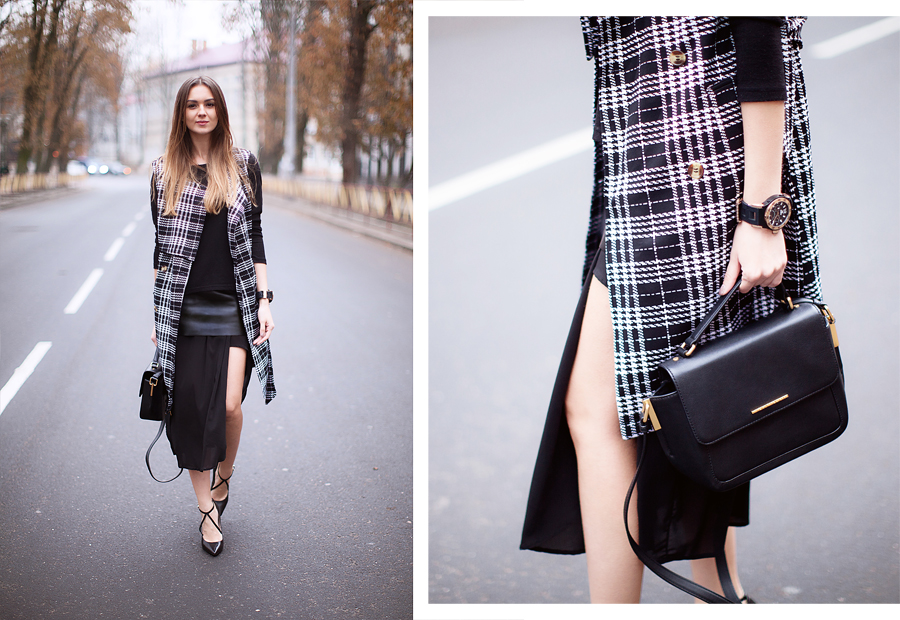 street-style-checked-sleeveless-coat-vest-layering-fall