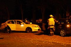 Einsatzübung Feuerwehr Ragow #1
