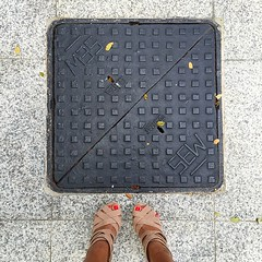 Sew square. #fromwhereistand #happyfeet