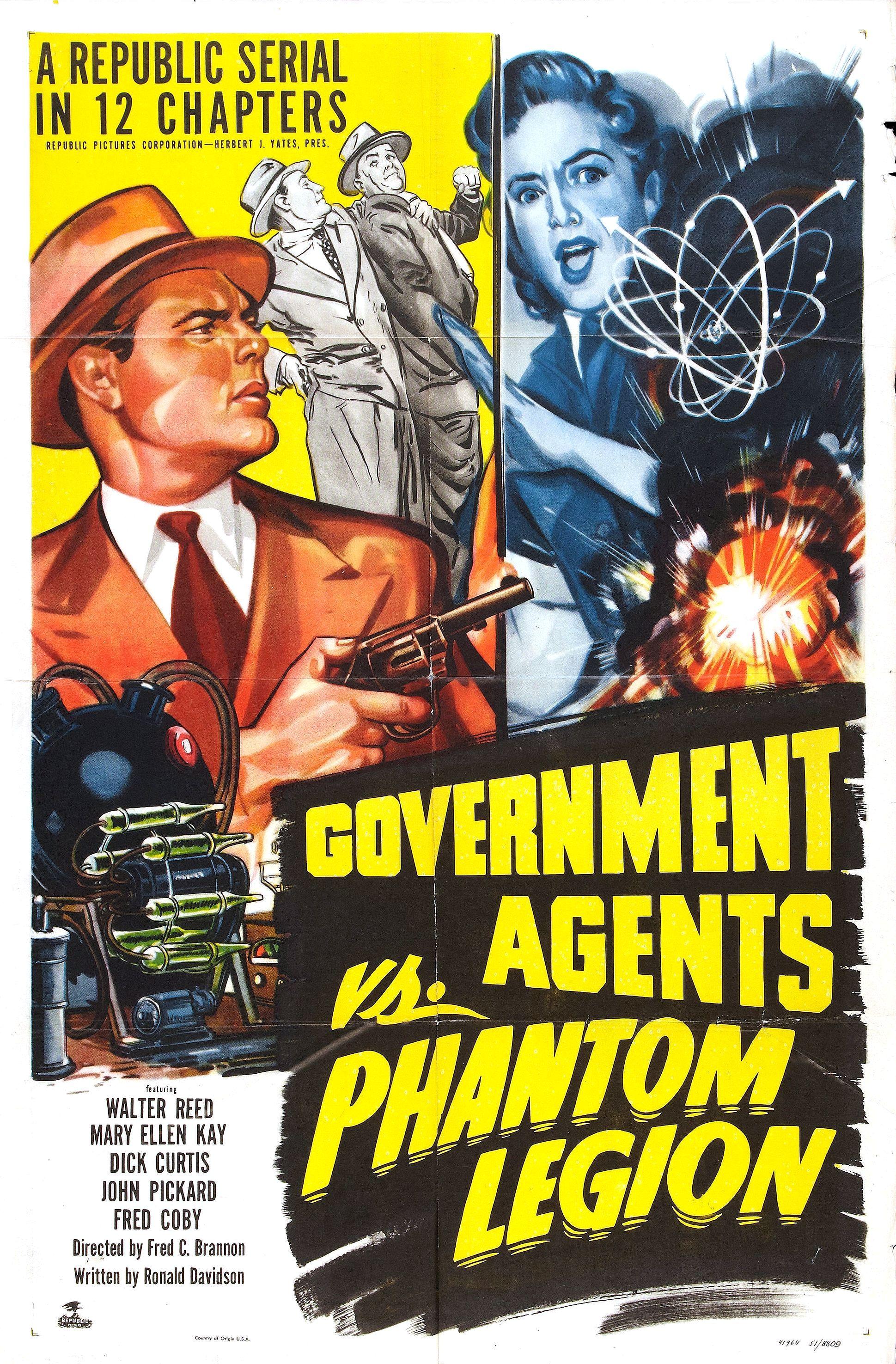 Government Agents vs Phantom Legion (1951)
