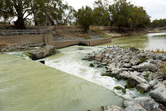 Weir 32 of the Darling River