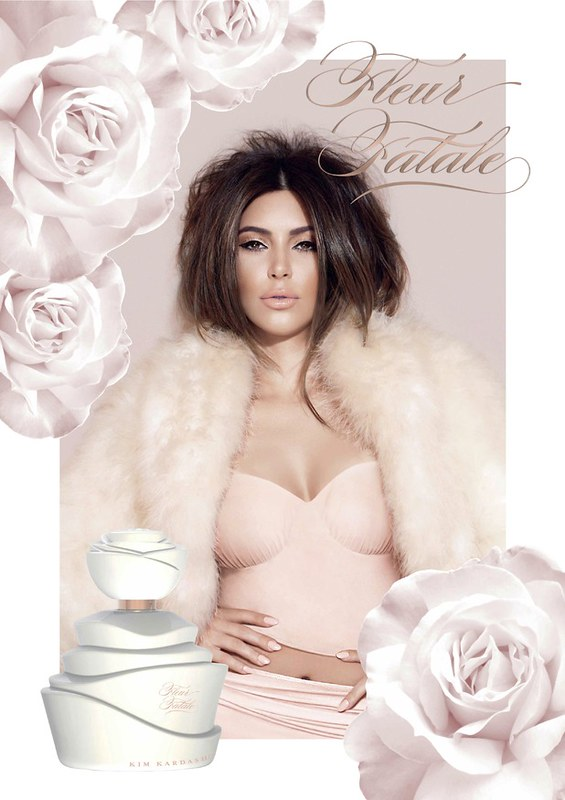 Fleur Fatale, o novo perfume de Kim Kardashian
