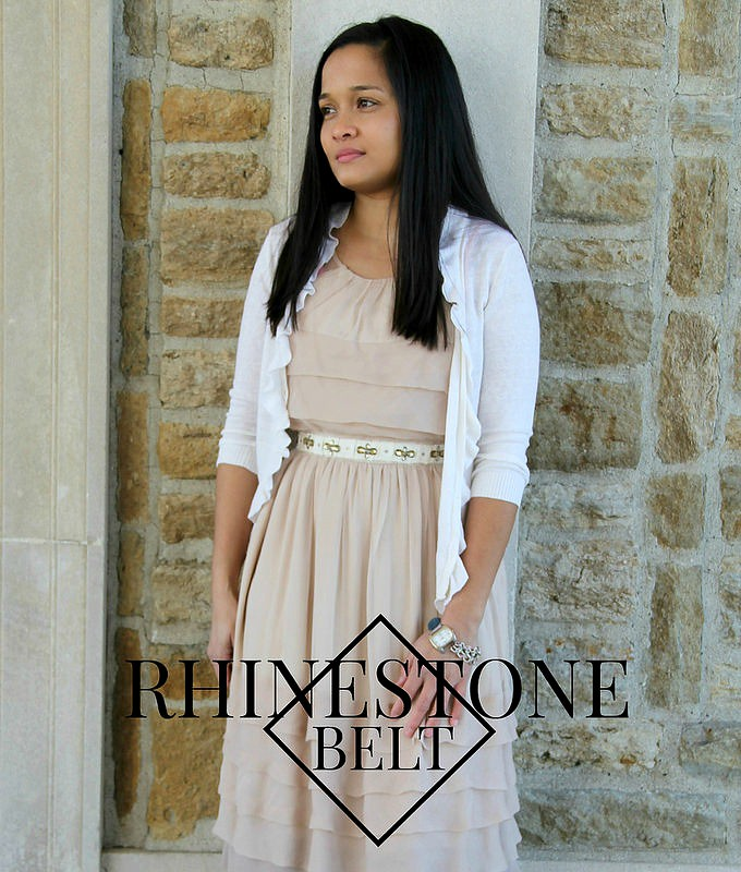 rhinestone-belt