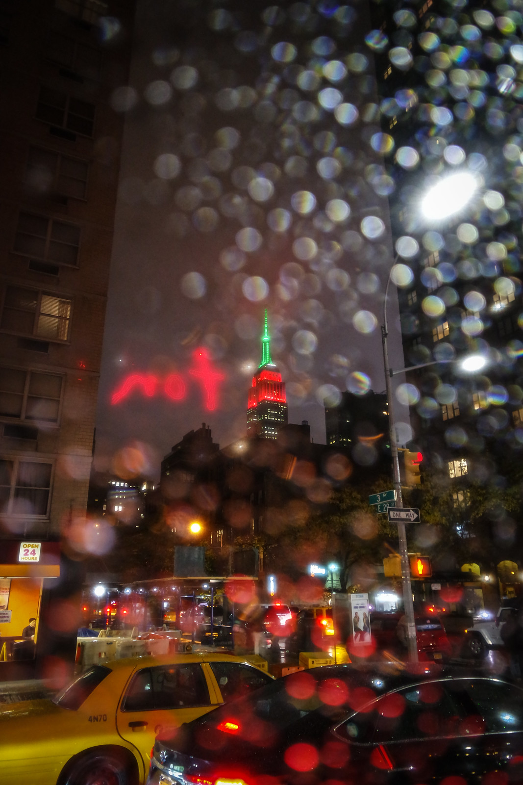 Rainy Empire State Building