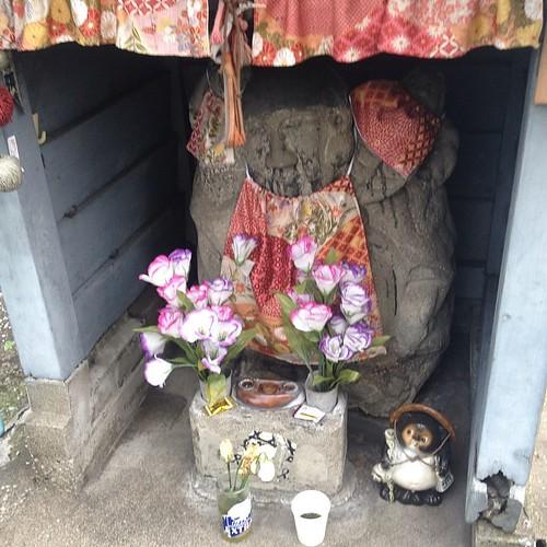 Little shrine near the market.