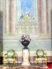 Inside The Palazzo Pfanner, Lucca, Tuscany