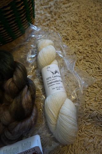 100% Cashmere yarn!