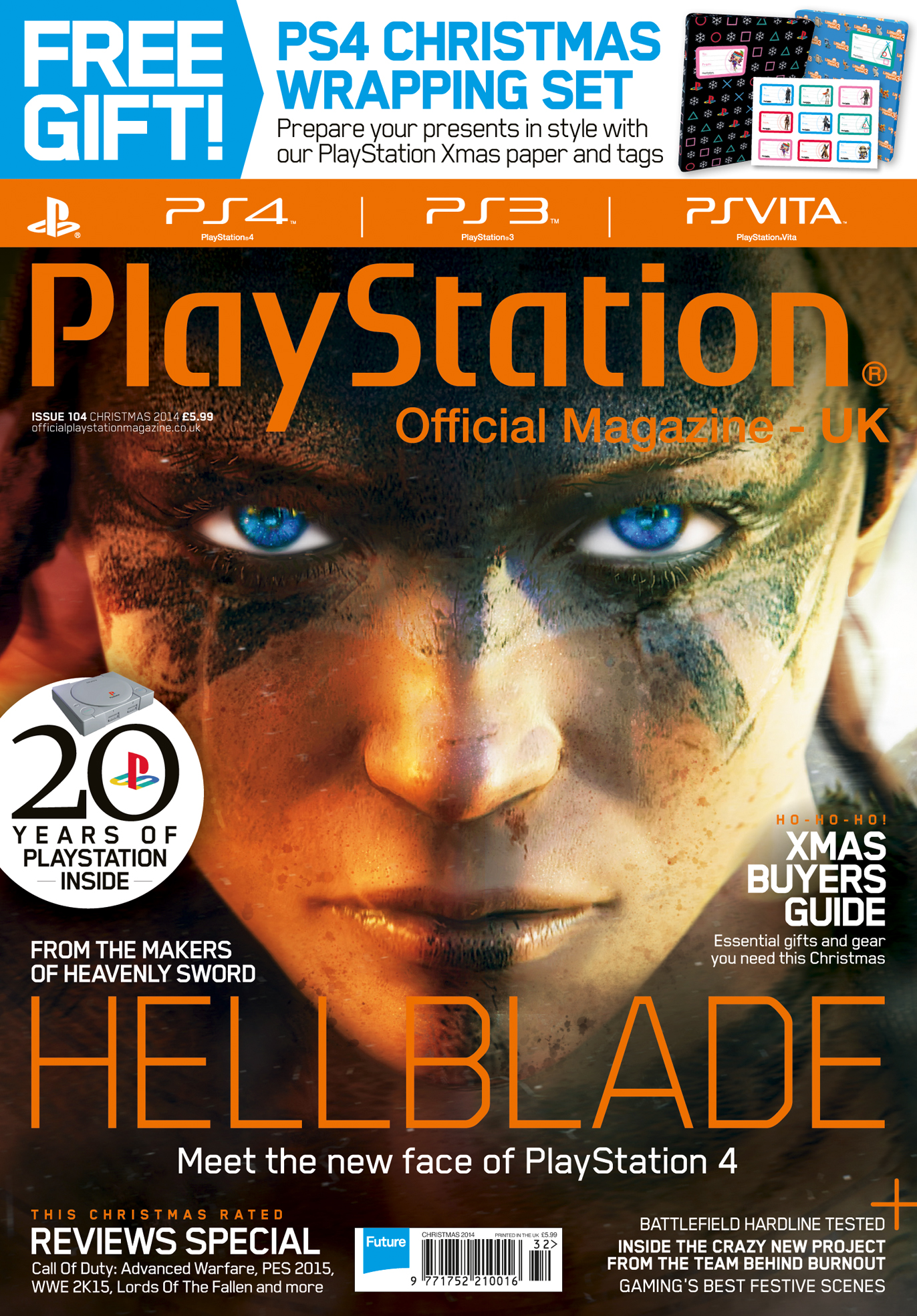 how playstation official magazine s hellblade cover was created