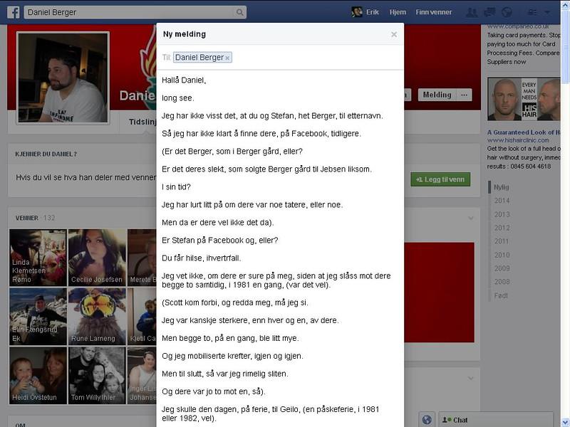 daniel facebook