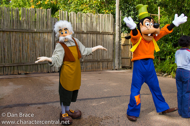 Character fun in Adventureland