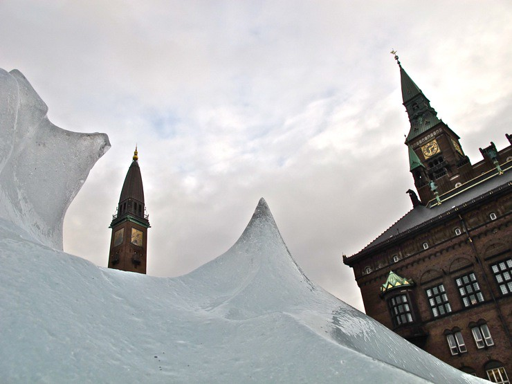 Ice Watch by Olafur Eliasson