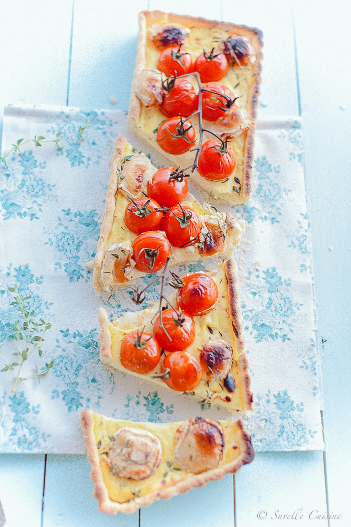 Tarte Ricota Tomate e Chévre_4