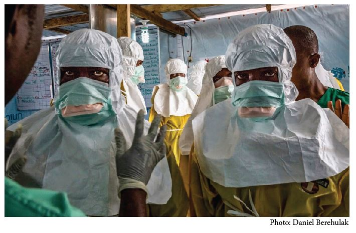 More than 5,000 people have lost their lives to Ebola.
