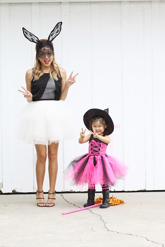lucky magazine contributor,fashion blogger,lovefashionlivelife,joann doan,style blogger,stylist,what i wore,my style,fashion diaries,outfit,space 46 boutique,tulle skirt,halloween,happy halloween,elliatt,infinity creative,lace bunny ears,fashion for less,amazon,costume ideas