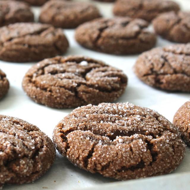 Molasses Spice Cookies